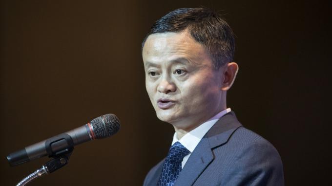阿里巴巴董事局主席馬雲。(圖:AFP)