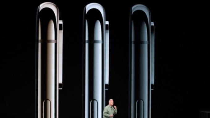 蘋果新機發表。(圖:AFP)