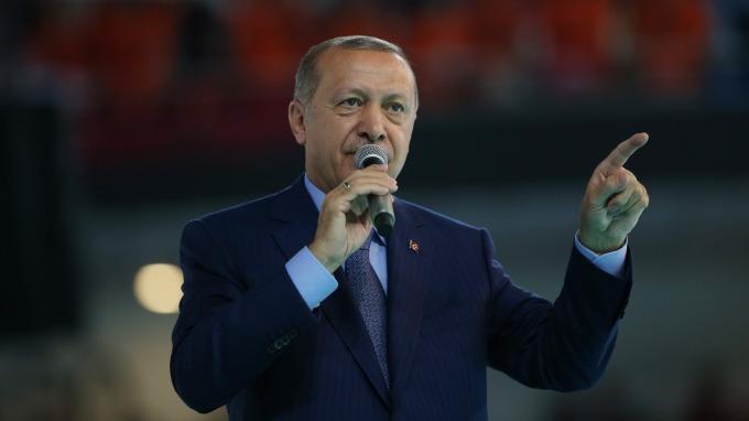 土耳其總統艾爾段。(圖:AFP)