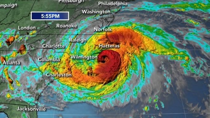 颶風襲擊美國 / 圖:6abc