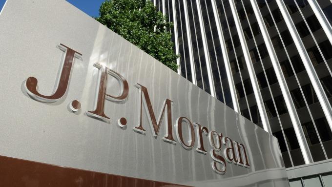 摩根大通警告第三季交易收入年增率下跌。(圖:AFP)