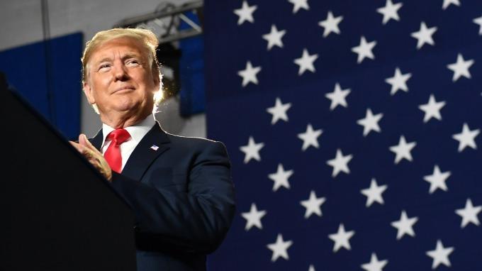 川普指出,美國沒有與中國達成貿易協議的壓力,中方才有。(圖:AFP)