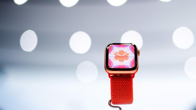 Apple Watch Series 4 (圖:AFP)