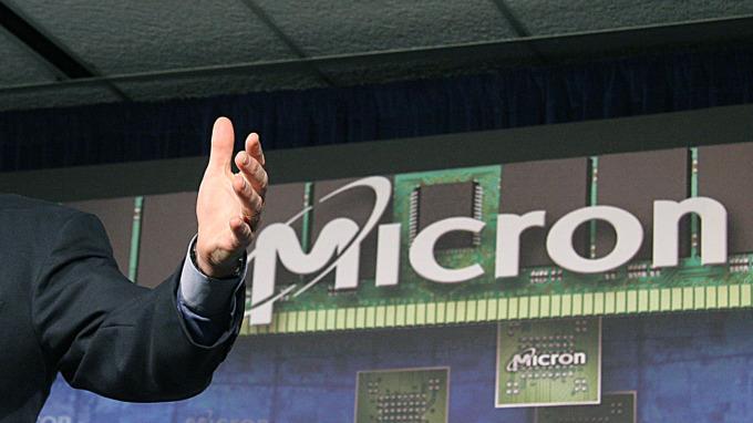 美國記憶體晶片大廠美光(圖:AFP)