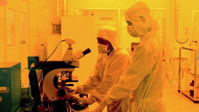 未來半導體需求成長不再來自手機晶片      (圖:AFP)