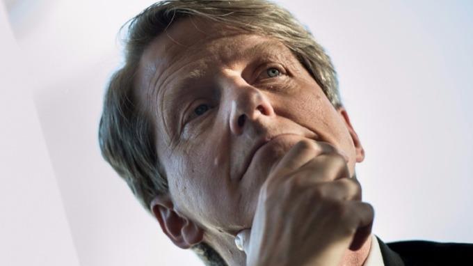 2013 年諾貝爾經濟學獎得主席勒 (Robert Shiller)。(圖:AFP)