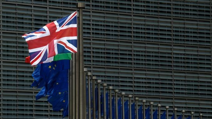 英國央行示警,硬脫歐將使經濟陷入危機。(圖:AFP)