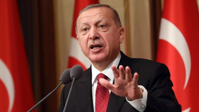 土耳其總統艾爾段自稱「利率之敵」。(圖:AFP)