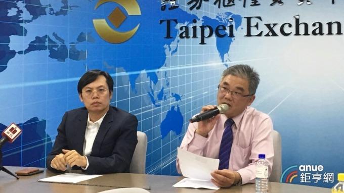 左為大宇資董事長凃俊光。(鉅亨網資料照)