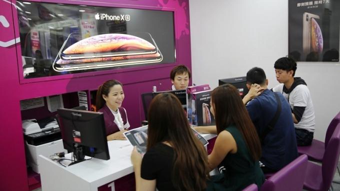蘋果新機預購熱烈。(圖:台灣之星提供)