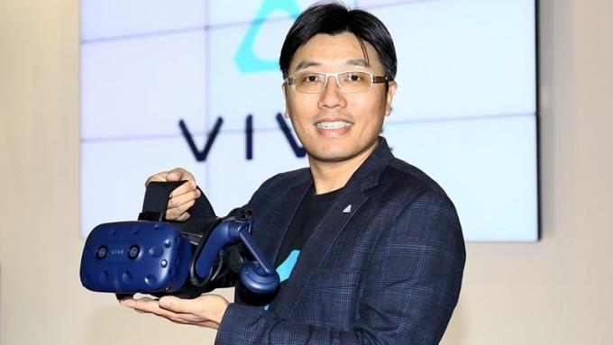 宏達電虛擬實境產品與策略副總鮑永哲看好台灣優勢。(資料照,圖:宏達電提供)