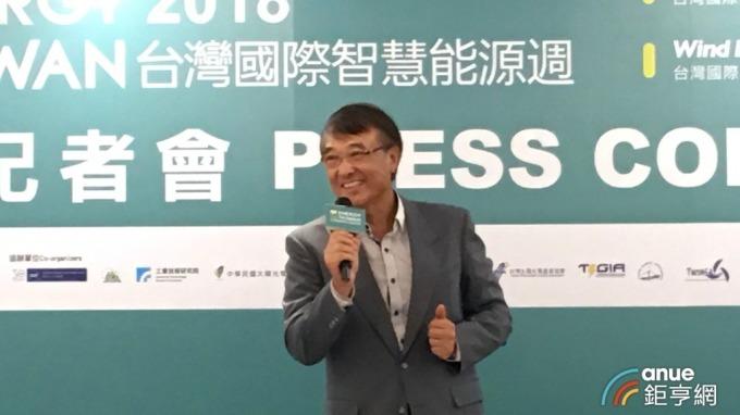 〈智慧能源週將開展〉元晶董座:政府20GW太陽能將占台灣整體發電量1成 可取代核電
