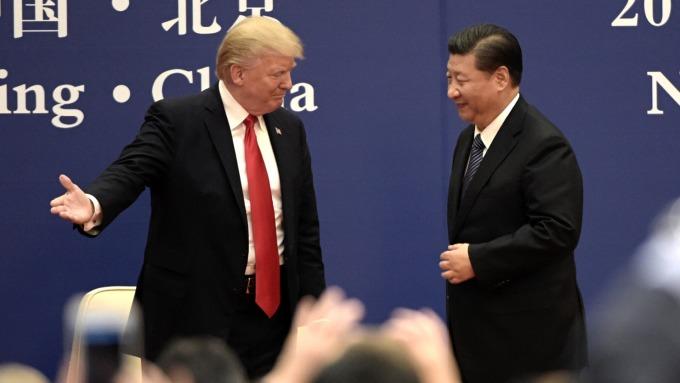 美中貿易戰持續升溫。(圖:AFP)