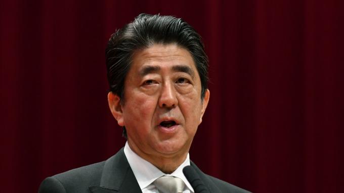 日本首相安倍晉三。(圖:AFP)