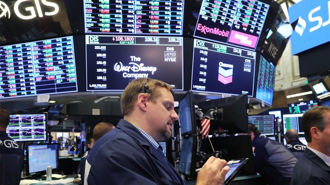 S&P500道瓊今早盤觸及歷史新高(圖:AFP)