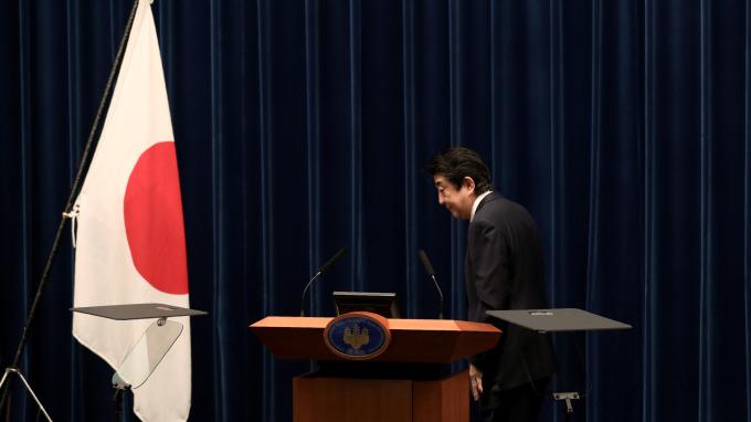 日本首相安倍晉三(圖:AFP)