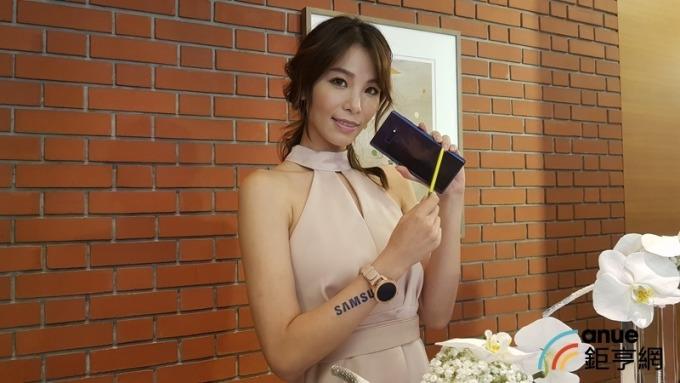三星Note9上市助攻台灣市場銷量市占。(鉅亨網記者楊伶雯攝)