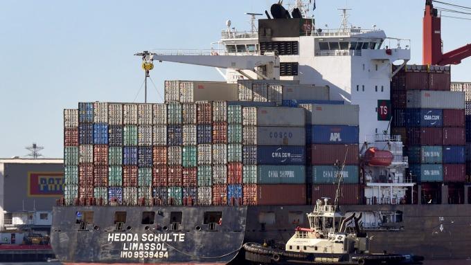 圖:AFP  中美兩國貿易問題嚴峻