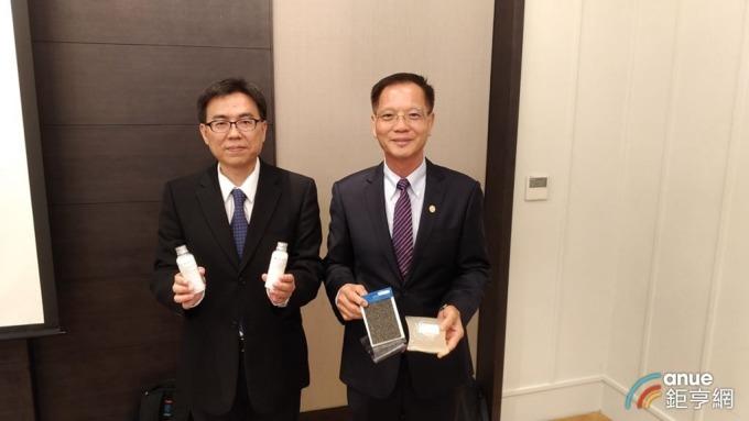 右為誠泰董事王勝義,左為總經理蘇忠仁。(圖:鉅亨網記者彭昱文攝)