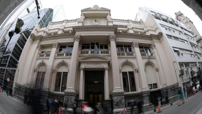 阿根廷央行(圖:AFP)