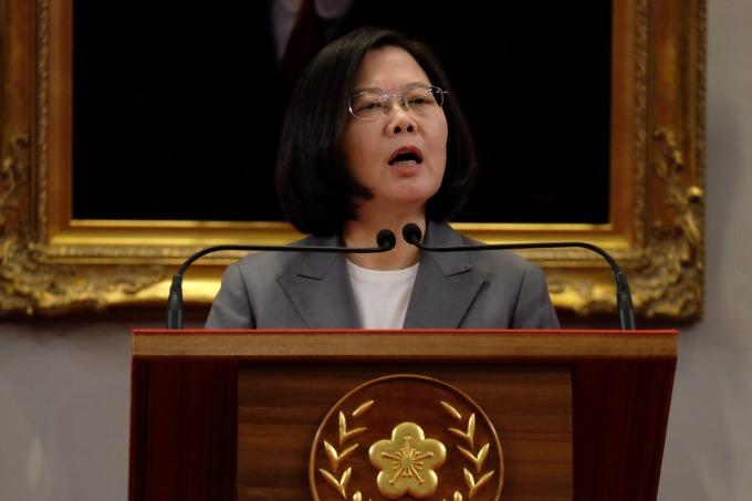 台灣總統蔡英文致力於推動「新南向政策」。(圖:AFP)