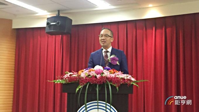 台灣松下電器公司 (Panasonic Taiwan) 董事長洪裕鈞。(鉅亨網記者黃雅娟攝)