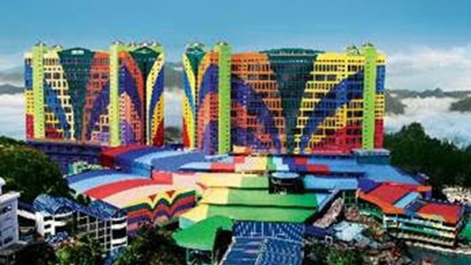 馬來西亞高原雲頂世界渡假村第一世界飯店 。(圖:Expedia提供)