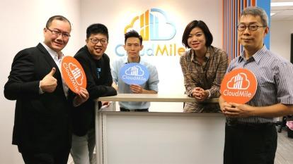 左起為CloudMile營運長高斌桓、創辦人暨執行長劉永信、技術長王彥翔、策略長蔣志薇、首席資料科學家郭正華。(圖:CloudMile提供)