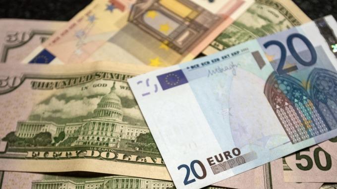 歐元反彈。(圖:AFP)