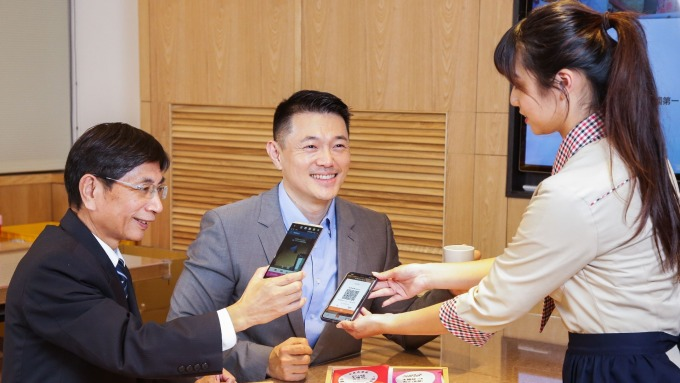 合庫銀與Visa合作的國際標準EMV的QR Code掃碼支付交易正式登台。(合庫銀提供)