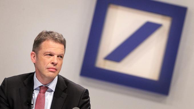 德意志銀行執行長Christian Sewing。(圖:AFP)