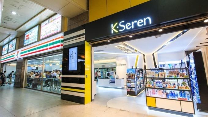 統一超「K.Seren」美妝複合店。(圖:統一超提供)