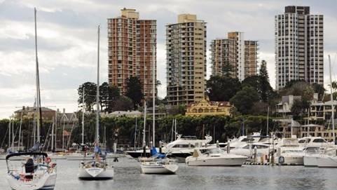 (圖三:澳洲房地產價格上揚趨緩,鉅亨網AFP)