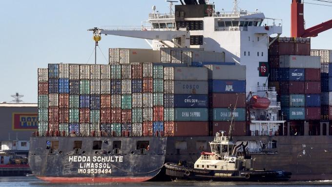 圖:AFP  英國脫歐 貿易衝擊大