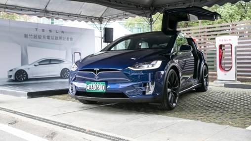 (圖二:Tesla電動車兩岸多有,鉅亨網、特斯拉提供)