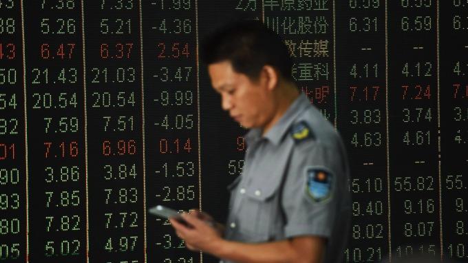 外資連三天從A股大撤退 (圖:AFP)