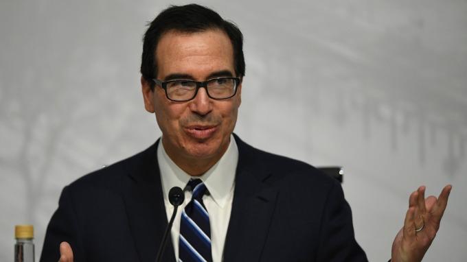 美國財政部長梅努欽(圖:AFP)