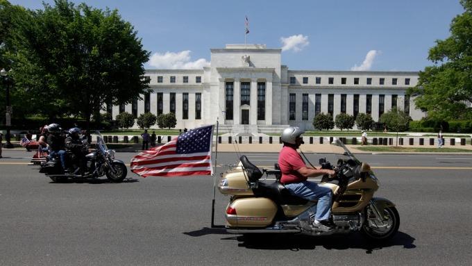 美國聯準會。(圖:AFP)