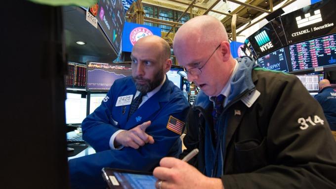週三美股大跌。(圖:AFP)
