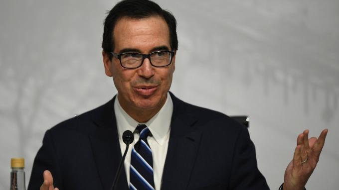 美國財長梅努欽(圖:AFP)