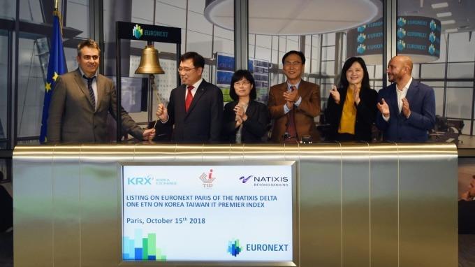 台韓資訊科技指數首檔ETN商品 今日在泛歐交易所上市