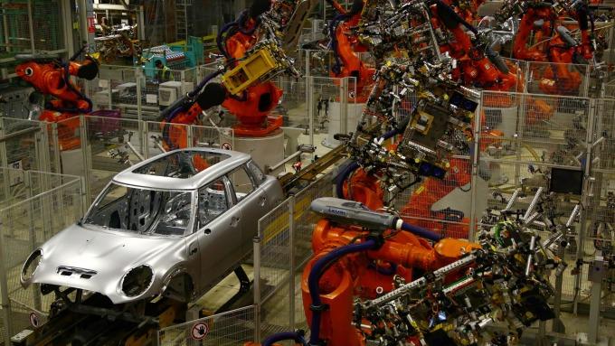 自動化重塑汽車業生態。(圖:AFP)