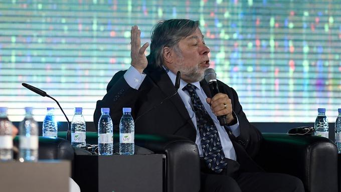 蘋果共同創辦人Steve Wozniak(圖:AFP)