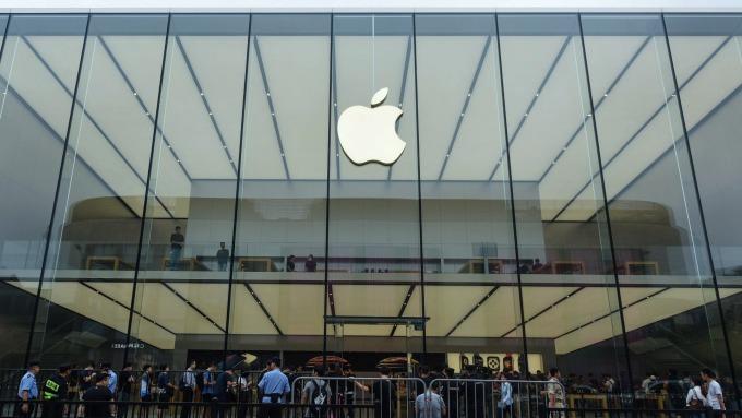 蘋果資安問題再起。(圖:AFP)