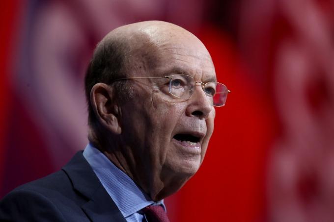 美國商務部長羅斯 (Wilbur Ross)。(圖:AFP)