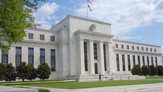 圖:AFP  聯準會(Fed)大樓