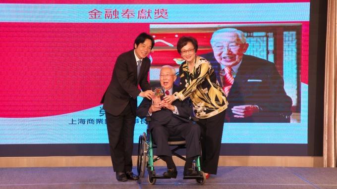 〈人物側寫〉上海商銀董座榮鴻慶 見證兩岸三地金融發展史