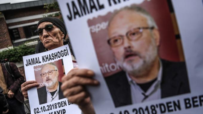 記者Khashoggi遭殺害。(圖:AFP)