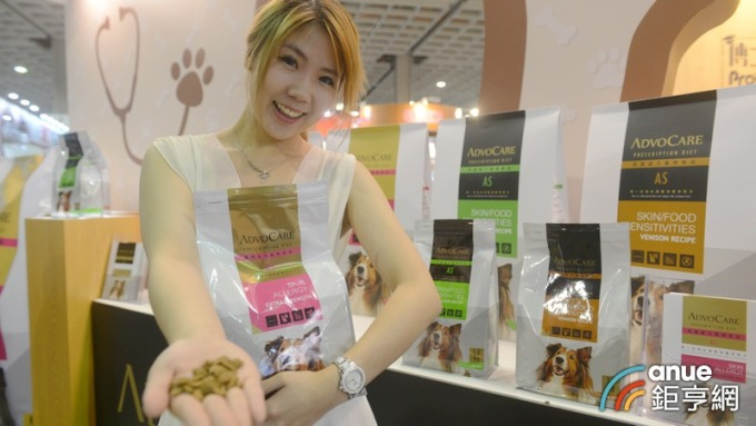 福壽是台灣最大的寵物食品製造公司。(鉅亨網記者張欽發攝)