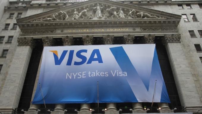 VISA推出區塊鏈數位身份解決方案(圖:AFP)